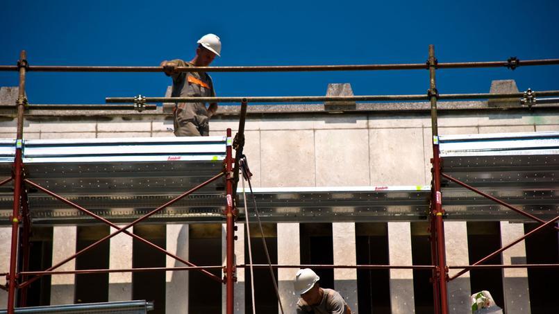 Slovènes sur un chantier